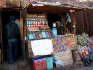 Snacks en-rout to the top of Sinai